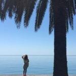 На море в Гаграх