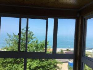 Абхазия Гагра частный сектор гостевой дом на берегу моря